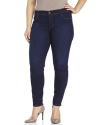 James Jeans | Blue Plus Size Leggy Z Stretch Skinny Jeans | Lyst