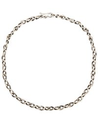 Dean Harris - Metallic Sterling Silver Chain-colorless for Men - Lyst