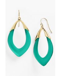Alexis Bittar | Blue 'lucite - Neo Bohemian' Open Drop Earrings | Lyst