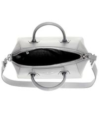 Givenchy - Gray Antigona Small Leather Tote - Lyst