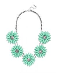 BaubleBar | Green Poppy Collar | Lyst