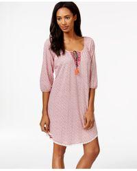 Lucky Brand | Pink Sleepshirt | Lyst