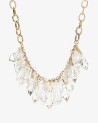 Ted Baker | Metallic Jewel Droplets Necklace | Lyst