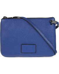 Marc By Marc Jacobs - Blue Ligero Double Percy Cross-body Bag - For Women - Lyst