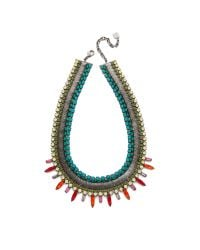 DANNIJO | Blue Kiera Necklace | Lyst