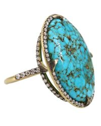 Sylva & Cie | Blue 'kingman' Ring | Lyst