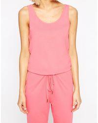 Vero Moda | Pink Jumpsuit | Lyst