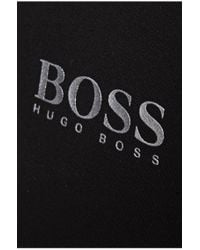 BOSS Green | Black 'paddy Pro' | Modern Fit, Moisture Manager-uv Polo Shirt for Men | Lyst