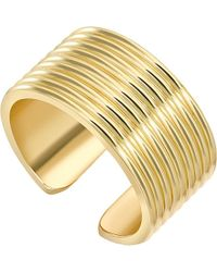 Theo Fennell   Metallic Yellow Gold Whip Torque Ring   Lyst