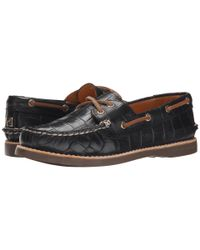 Sperry Top-Sider | Black Gold Cup A/o Boat Novelty | Lyst