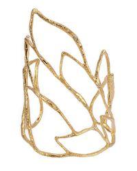 Alexis Bittar | Metallic Phoenix Crystal Embellished Rocky Cuff - Gold | Lyst