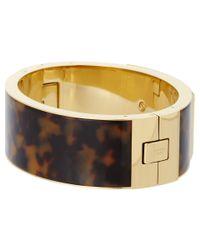 Michael Kors | Metallic Inner Frame Hinge Bracelet | Lyst