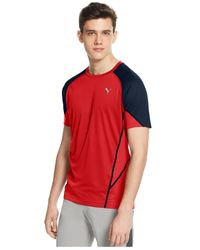 PUMA | Red Men's Novelty Coolcell T-shirt for Men | Lyst