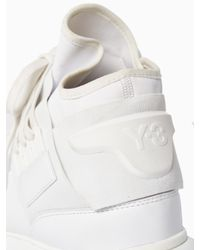 Y-3 - White Qasa High Sneakers for Men - Lyst