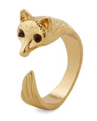 Ana Accessories Inc | Metallic Over and Outfox Ring | Lyst