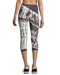 Balance Collection | Gray Tie-dye Capri Leggings | Lyst