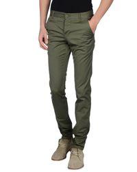 Carhartt - Green Casual Trouser for Men - Lyst