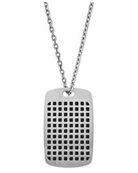 Emporio Armani | Metallic Egs2116040 Mens Necklace for Men | Lyst