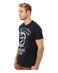 DIESEL | Blue T-newyn T-shirt for Men | Lyst