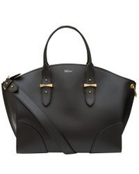 Alexander McQueen - Black Legend Classic Leather Bag - Lyst