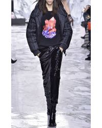 Carven - Black Noir Quilted Puffer Jacket - Lyst