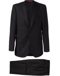 Isaia - Black One Button Tuxedo for Men - Lyst