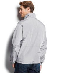 Weatherproof - Gray Wind-resistant Soft-shell Oxford Jacket for Men - Lyst