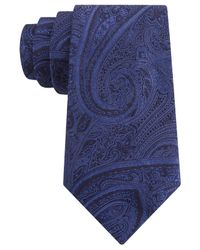 Michael Kors - Blue Michael Intricate Paisley Tie for Men - Lyst