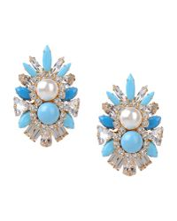 Shourouk | Blue Earrings | Lyst