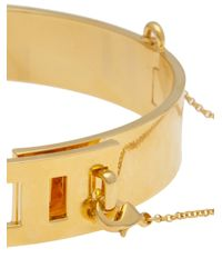 Eddie Borgo - Metallic Safety Chain Choker - Lyst