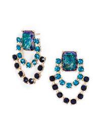 BaubleBar - Black Opal Azure Swag Drops - Lyst