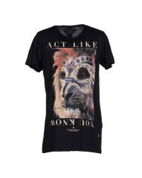 Les Benjamins - Black T-shirt for Men - Lyst