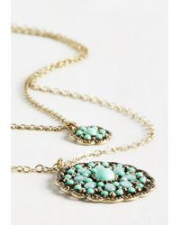 Ana Accessories Inc - Metallic Glam Of Few Words Necklace - Lyst