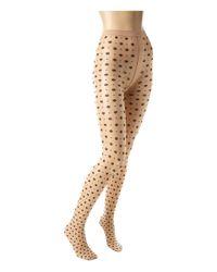 Wolford   Natural Daria Knee-high Socks   Lyst