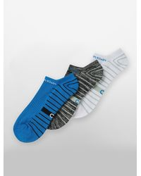 Calvin Klein | Blue Underwear 3 Pack Coolpass Striped Socks for Men | Lyst