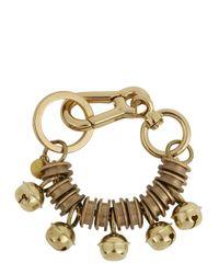 Moxham - Metallic Morphic Gold Plated Cuff - Lyst