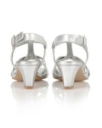 Lotus | Metallic Empress Court Shoes | Lyst