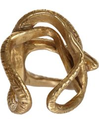 Suzannah Wainhouse Jewelry - Metallic Coiled Snake Cage Ring - Lyst
