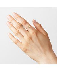 Satomi Kawakita | Metallic Sunburst Diamond Ring | Lyst