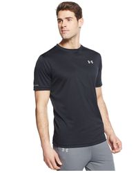 Under Armour | Black Running T-shirt for Men | Lyst