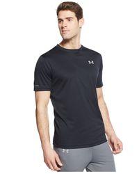 Under Armour - Black Running T-shirt for Men - Lyst
