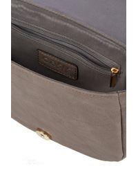 Oasis | Gray Sadie Saddle Bag | Lyst
