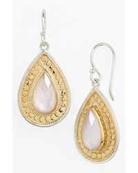 Anna Beck | Metallic 'Gili' Teardrop Earrings | Lyst