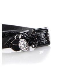 DIESEL   Black Arayy Twist Bracelet   Lyst