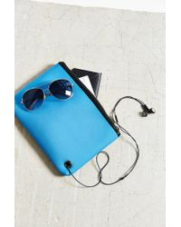 Urban Outfitters - Blue Neoprene Medium Pouch - Lyst