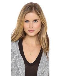 Sarah Chloe | Multicolor Eva Engraved Pendant Necklace | Lyst