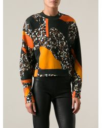 Acne Studios - Multicolor Bird Terazzo Sweatshirt - Lyst