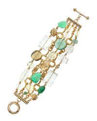 Stephen Dweck | Metallic Bronze Multi-strand Bracelet | Lyst