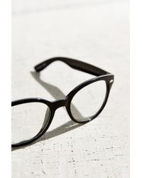 Urban Outfitters | Black Round Readers | Lyst