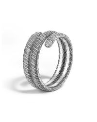 John Hardy | Metallic Classic Chain Double Coil Bracelet | Lyst